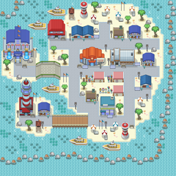 MonsterMMORPG New Incoming Map Region Water MajorCity - Copyrighted To MonsterMMORPG