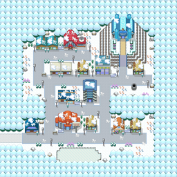 MonsterMMORPG New Incoming Map Region Ice MajorCity - Copyrighted To MonsterMMORPG