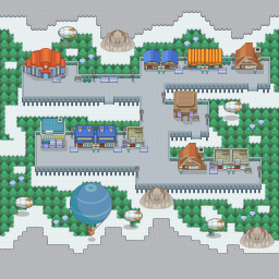 MonsterMMORPG New Incoming Map Region Flying MinorCity 3 - Copyrighted To MonsterMMORPG