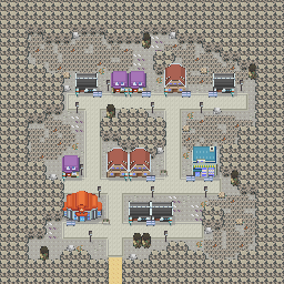 MonsterMMORPG New Incoming Map Region Dark MinorCity 1 - Copyrighted To MonsterMMORPG