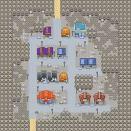 MonsterMMORPG New Incoming Map Region Dark MinorCity 3 - Copyrighted To MonsterMMORPG