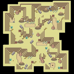 MonsterMMORPG New Incoming Map Region 455 Underground Ground 1 Floor 2 - Copyrighted To MonsterMMORPG