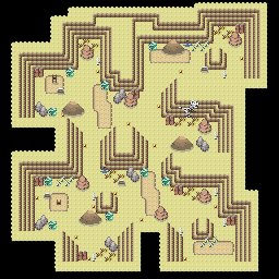 MonsterMMORPG New Incoming Map Region 456 Underground Ground 1 Floor 3 - Copyrighted To MonsterMMORPG