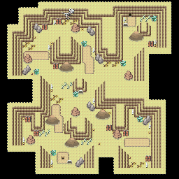 MonsterMMORPG New Incoming Map Region 457 Underground Ground 2 Floor 1 - Copyrighted To MonsterMMORPG