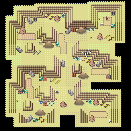 MonsterMMORPG New Incoming Map Region 458 Underground Ground 2 Floor 2 - Copyrighted To MonsterMMORPG