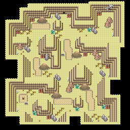 MonsterMMORPG New Incoming Map Region 460 Underground Ground 3 Floor 1 - Copyrighted To MonsterMMORPG