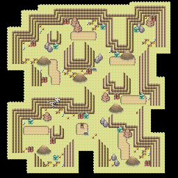 MonsterMMORPG New Incoming Map Region 461 Underground Ground 3 Floor 2 - Copyrighted To MonsterMMORPG