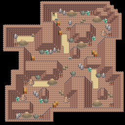 MonsterMMORPG New Incoming Map Region 464 Underground Rock 1 Floor 2 - Copyrighted To MonsterMMORPG