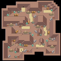 MonsterMMORPG New Incoming Map Region 465 Underground Rock 2 Floor 1 - Copyrighted To MonsterMMORPG
