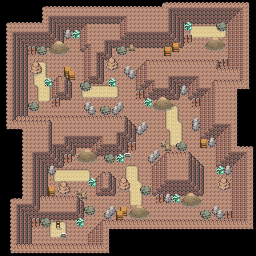 MonsterMMORPG New Incoming Map Region 466 Underground Rock 2 Floor 2 - Copyrighted To MonsterMMORPG