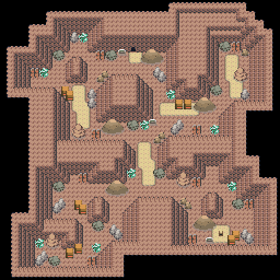 MonsterMMORPG New Incoming Map Region 467 Underground Rock 3 Floor 1 - Copyrighted To MonsterMMORPG