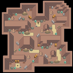 MonsterMMORPG New Incoming Map Region 468 Underground Rock 3 Floor 2 - Copyrighted To MonsterMMORPG