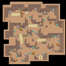 MonsterMMORPG New Incoming Map Region 513 Underground Mixed 1 Floor 1 - Copyrighted To MonsterMMORPG