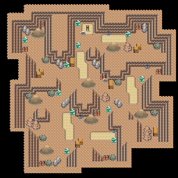 MonsterMMORPG New Incoming Map Region 515 Underground Mixed 1 Floor 3 - Copyrighted To MonsterMMORPG