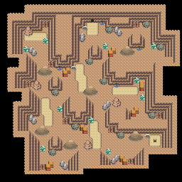 MonsterMMORPG New Incoming Map Region 516 Underground Mixed 2 Floor 1 - Copyrighted To MonsterMMORPG