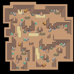 MonsterMMORPG New Incoming Map Region 517 Underground Mixed 2 Floor 2 - Copyrighted To MonsterMMORPG