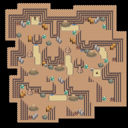 MonsterMMORPG New Incoming Map Region 519 Underground Mixed 3 Floor 2 - Copyrighted To MonsterMMORPG