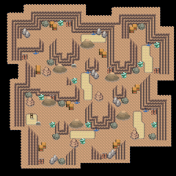 MonsterMMORPG New Incoming Map Region 52Underground Mixed 3 Floor 3 - Copyrighted To MonsterMMORPG