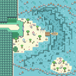 MonsterMMORPG New Incoming Map Region Water Route 74 - Copyrighted To MonsterMMORPG