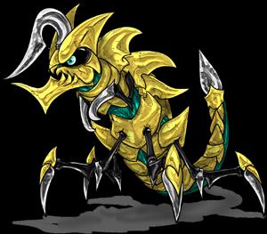 MonsterMMORPG New Incoming Monster 018_Klactipede Copyrighted To MonsterMMORPG