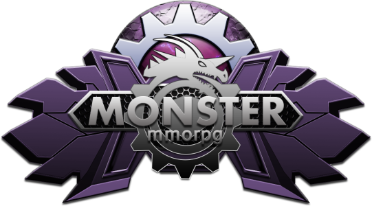 Monster MMORPG Game Pokemon Logo